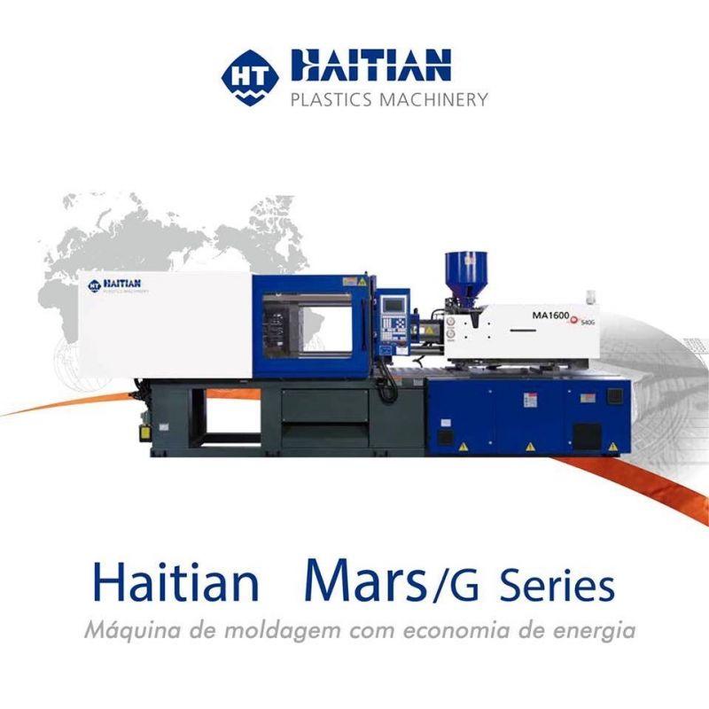 Haitian - Conheça a linha de injetoras Marte G (MAG)