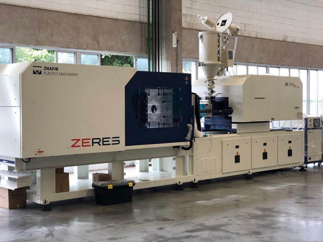 Haitian Zhafir - Conheça a linha de injetoras elétricas Zeres (ZE)