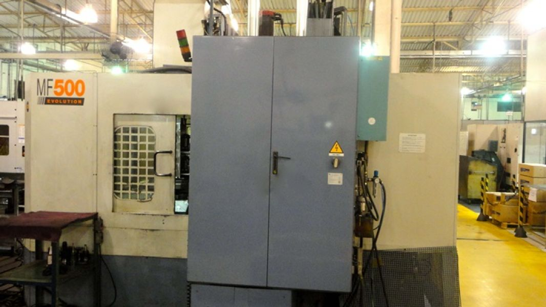 Centro de Usinagem Horizontal FAMUP MF500