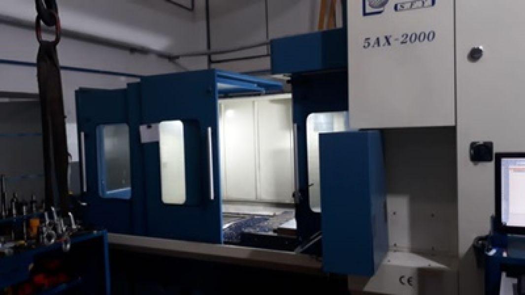 Centro de Usinagem Portal 5 eixos SFY 5AX-2000