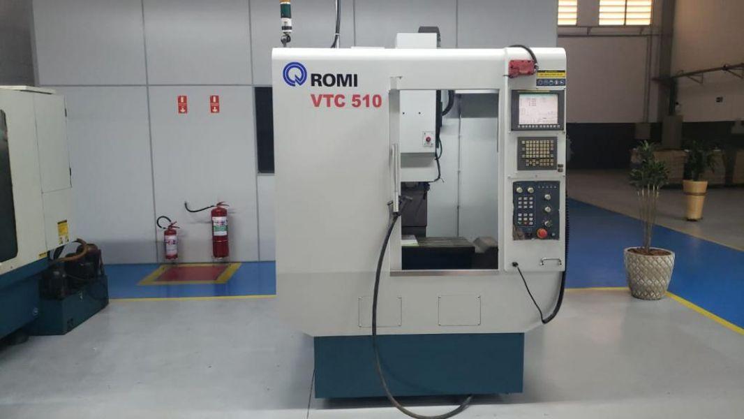 Centro de Usinagem Vertical ROMI VTC510