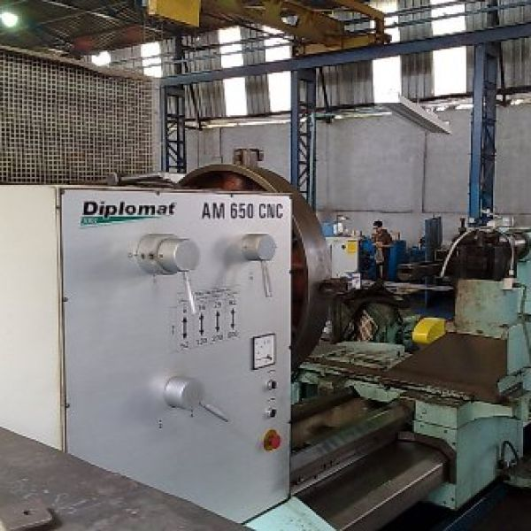 Torno CNC NARDINI DIPLOMAT AM650