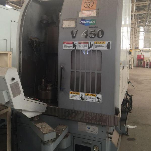 Torno CNC Vertical DOOSAN V450