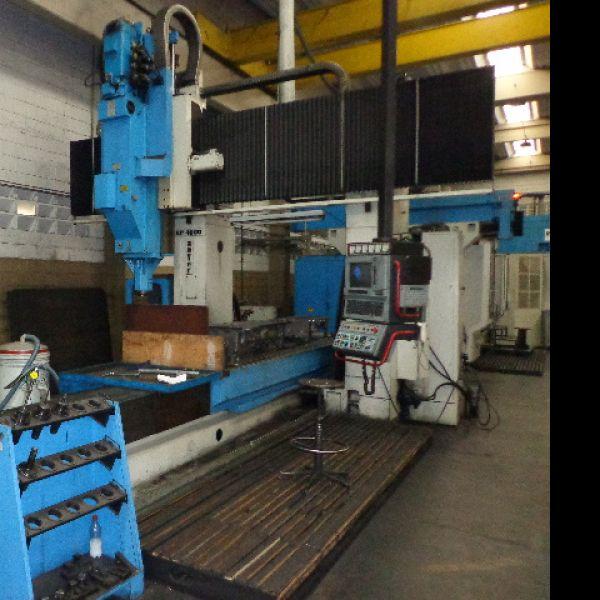 Fresadora Portal CNC ZAYER KP-4000