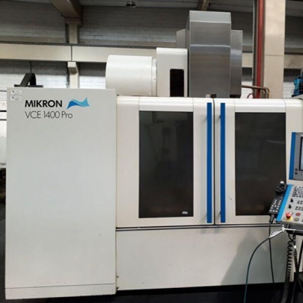 Centro de Usinagem Vertical MIKRON VCE-1400+ Pro