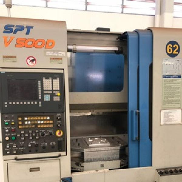Centro de Usinagem Vertical HYUNDAI SPT-V500D (Duplo Pallet)