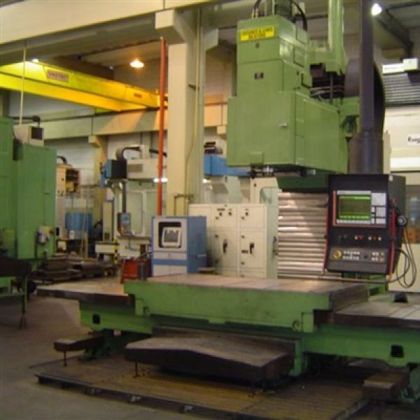 Fresadora CNC GIDDINGS & LEWIS