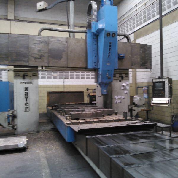 Fresadora Portal CNC ZAYER FP-5000