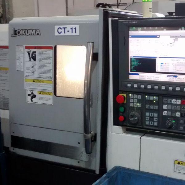 Torno CNC OKUMA GENOS L200E-M