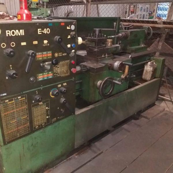 Torno Mecânico ROMI E40A