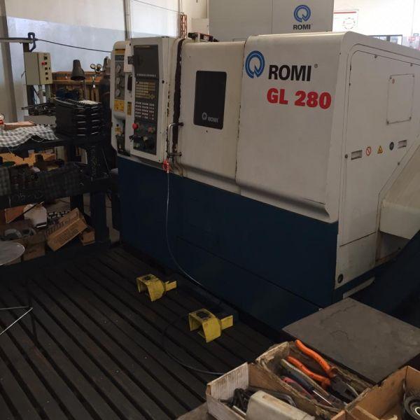Torno CNC ROMI GL280