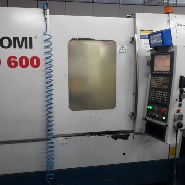 Centro de Usinagem Vertical ROMI D600