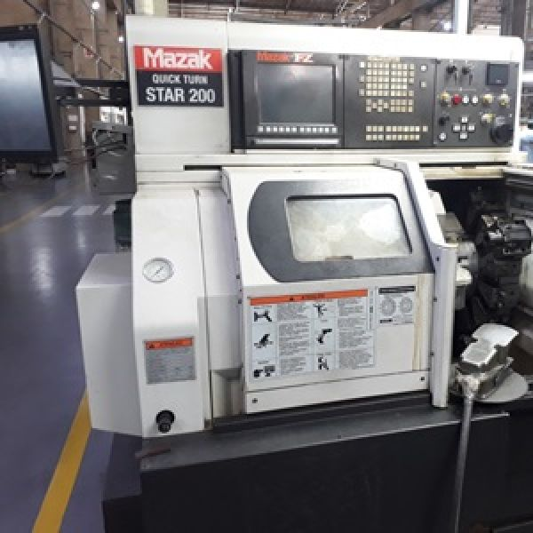 Torno CNC MAZAK QUICK TURN STAR 200