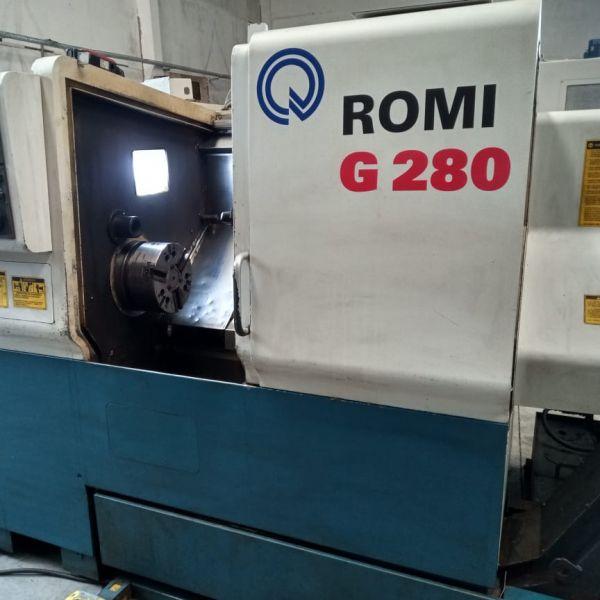 Torno CNC ROMI G280