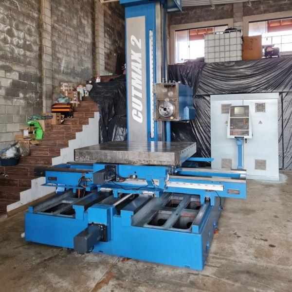 Mandrilhadora CNC WOTAN CUTMAX 2TT2